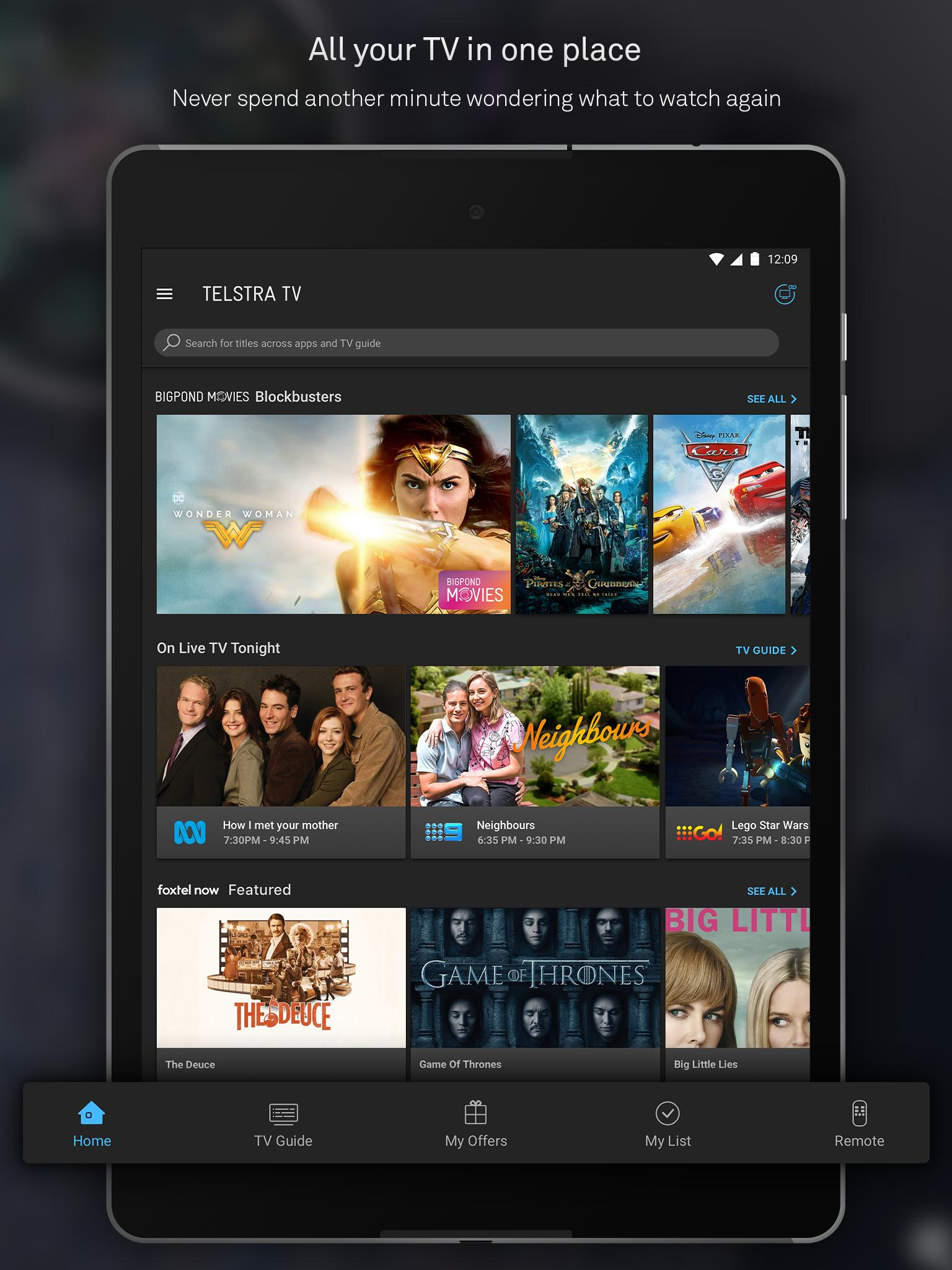 Telstra TV for Android - APK Download