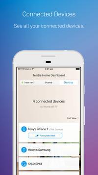 Telstra Home Dashboard™ screenshot 2