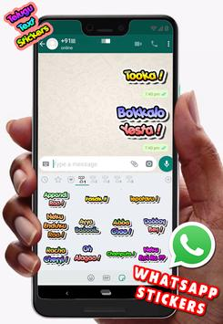 Text Stickers pack for Whatsapp (WAStickerApps) screenshot 7