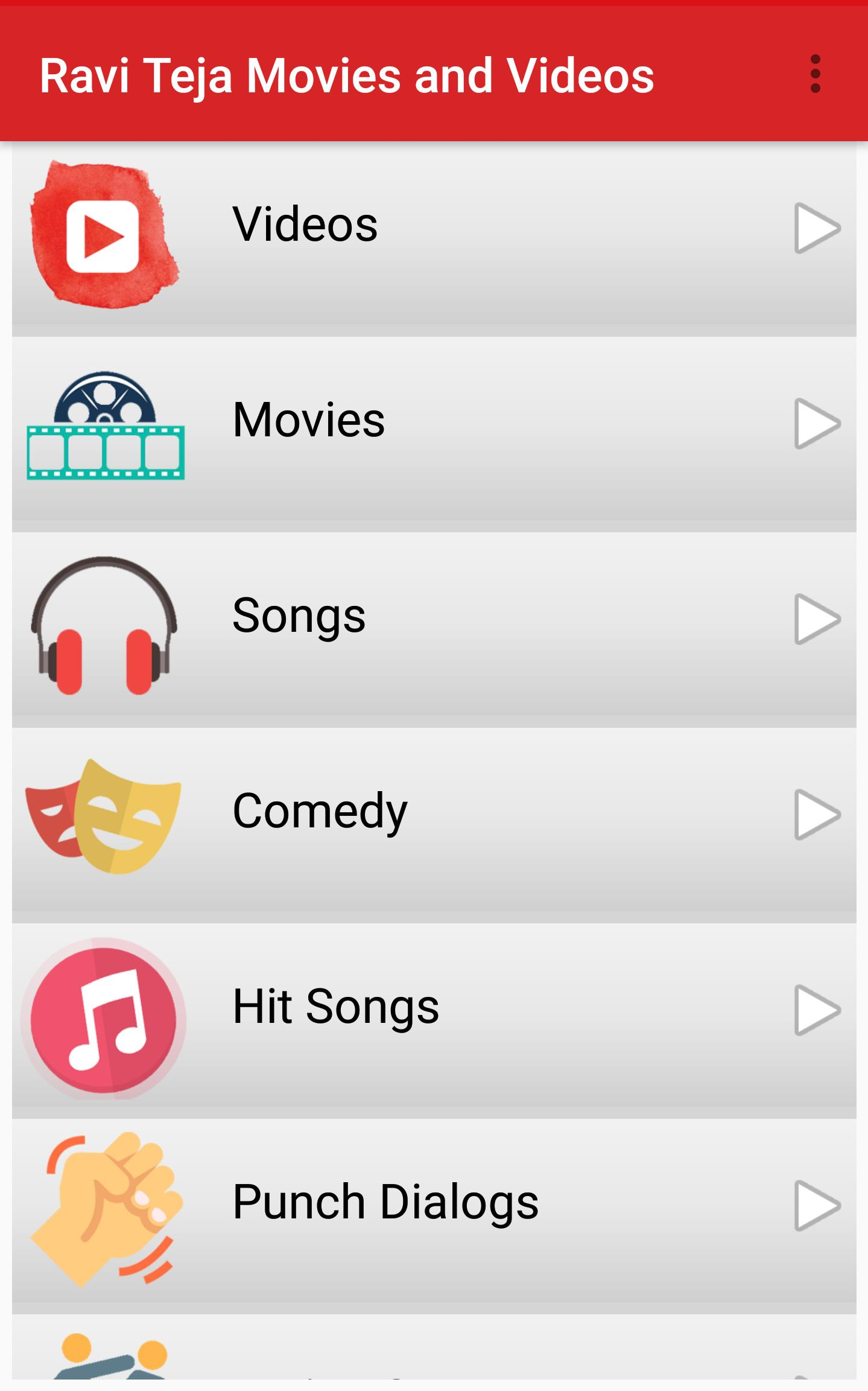 Ravi Teja Movies-Videos Songs for Android - APK Download