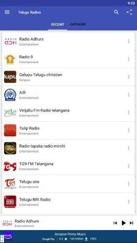 TeluguRadios - Telugufm - Andhra Telangana Radios screenshot 3