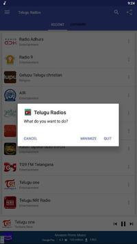 TeluguRadios - Telugufm - Andhra Telangana Radios screenshot 7