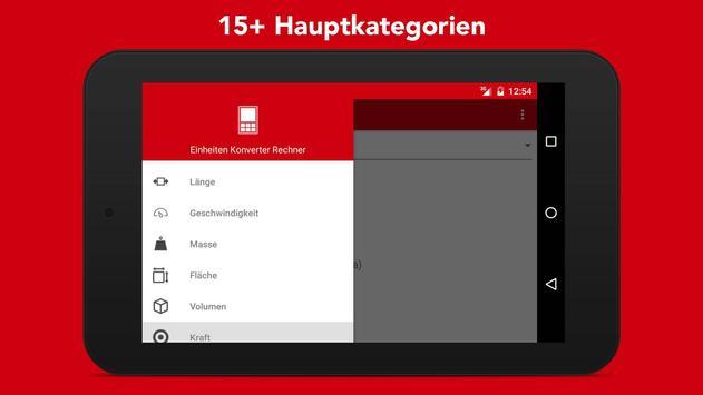Einheiten Umrechnen + Wahrungsrechner Screenshot 7