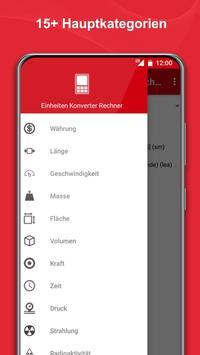 Einheiten Umrechnen + Wahrungsrechner Screenshot 3