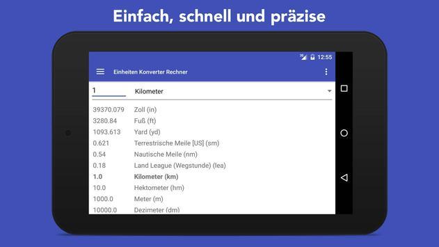 Einheiten Umrechnen + Wahrungsrechner Screenshot 5
