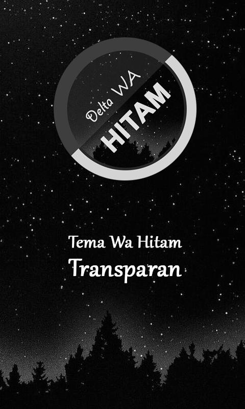 Tema Wa Black Wallpaper Hitam Gb For Android Apk Download