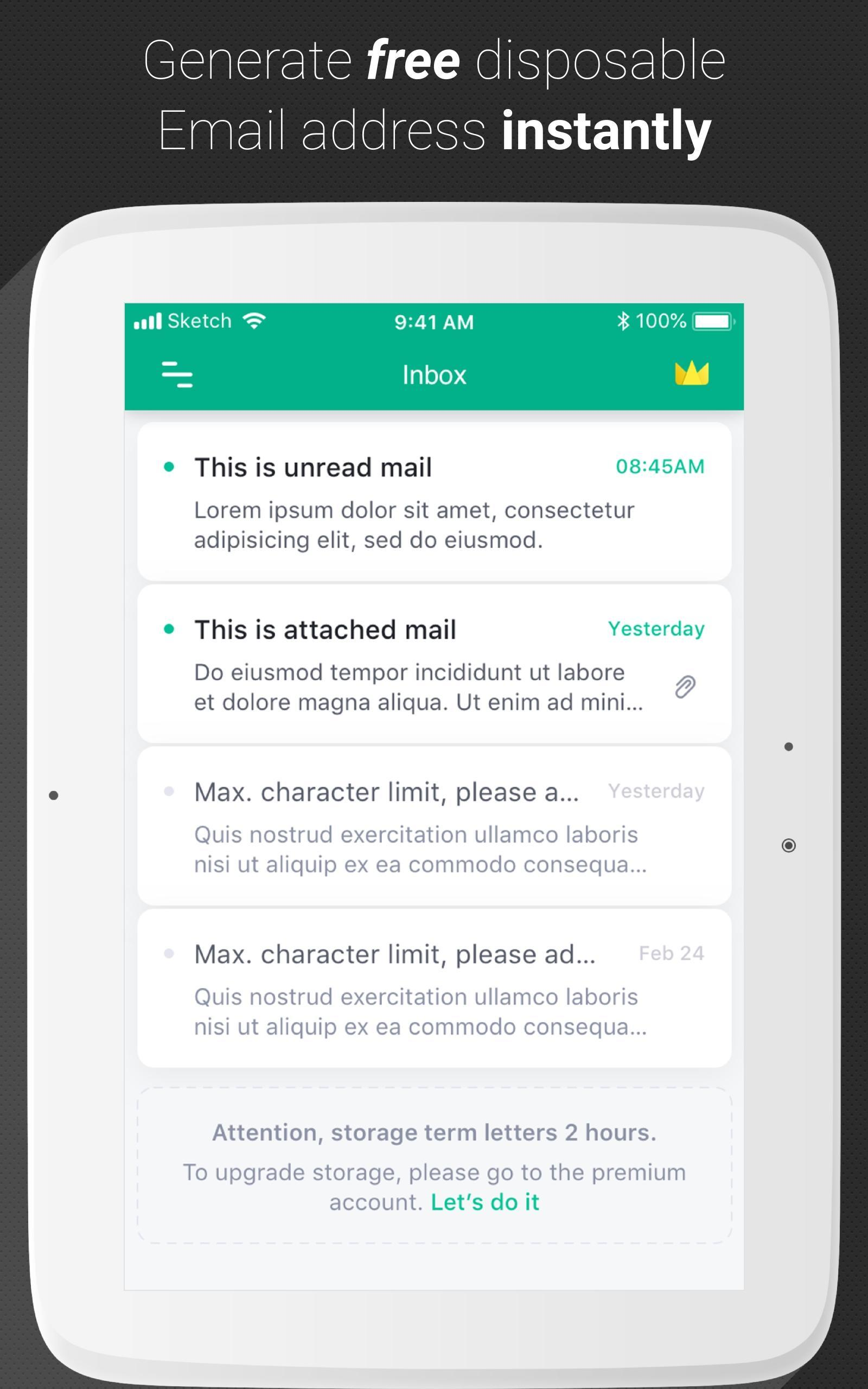 Temp Mail - Temporary Disposable Email for Android - APK Download