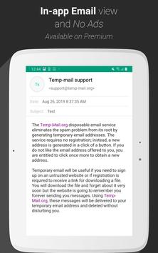 Temp Mail 截圖 11