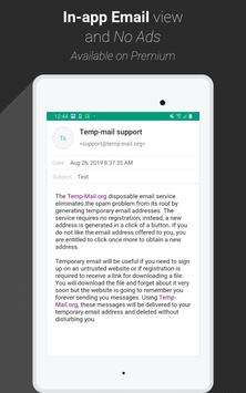 Temp Mail 截圖 7
