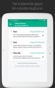 Temp Mail Ekran Görüntüsü 9