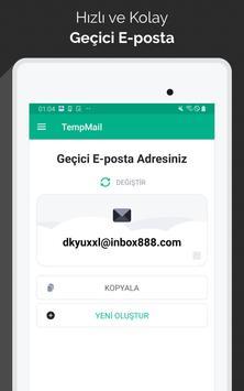 Temp Mail Ekran Görüntüsü 4