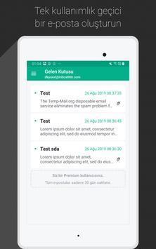 Temp Mail Ekran Görüntüsü 5
