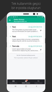 Temp Mail Ekran Görüntüsü 1