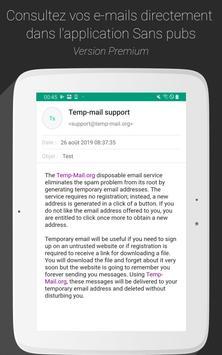 Temp Mail capture d'écran 11