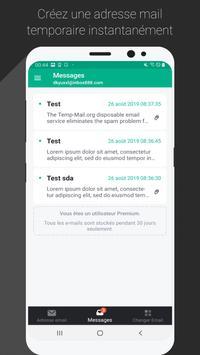 Temp Mail capture d'écran 1