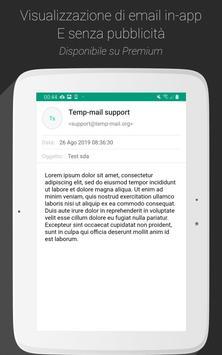 11 Schermata Temp Mail