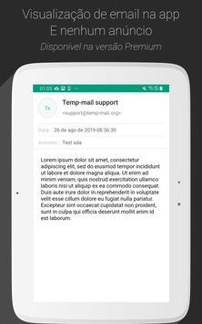 Temp Mail imagem de tela 11