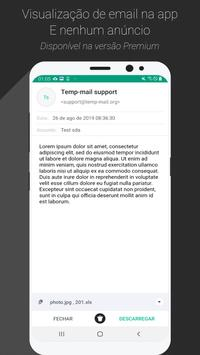Temp Mail imagem de tela 3