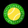 Tennis Math-icoon