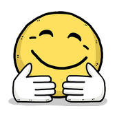 WAStickerApps Hug Emoji icon