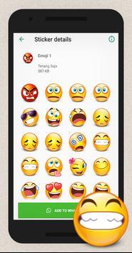 WAStickerApps Hug Emoji screenshot 2