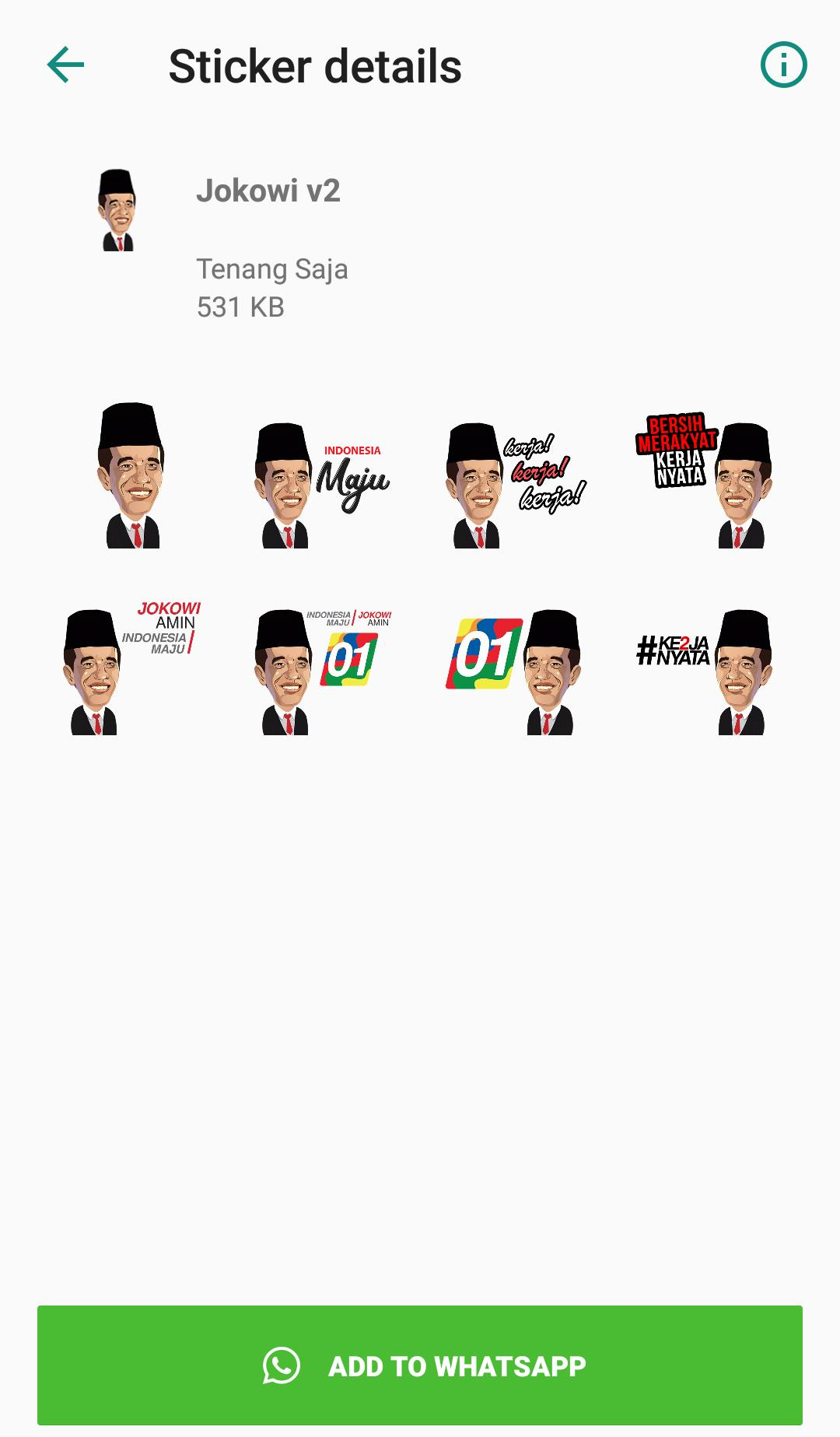 Sticker Presiden Jokowi for Android - APK Download