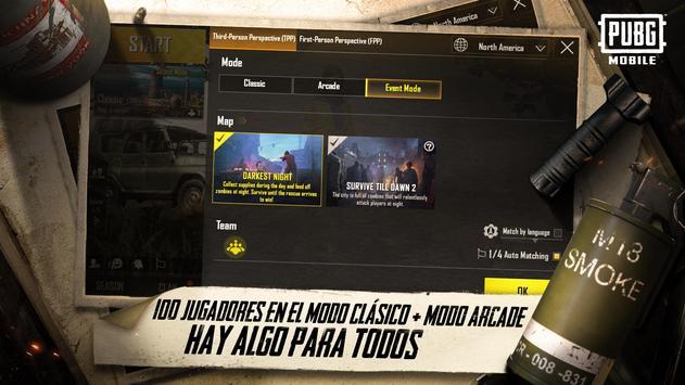 PUBG MOBILE captura de pantalla 4