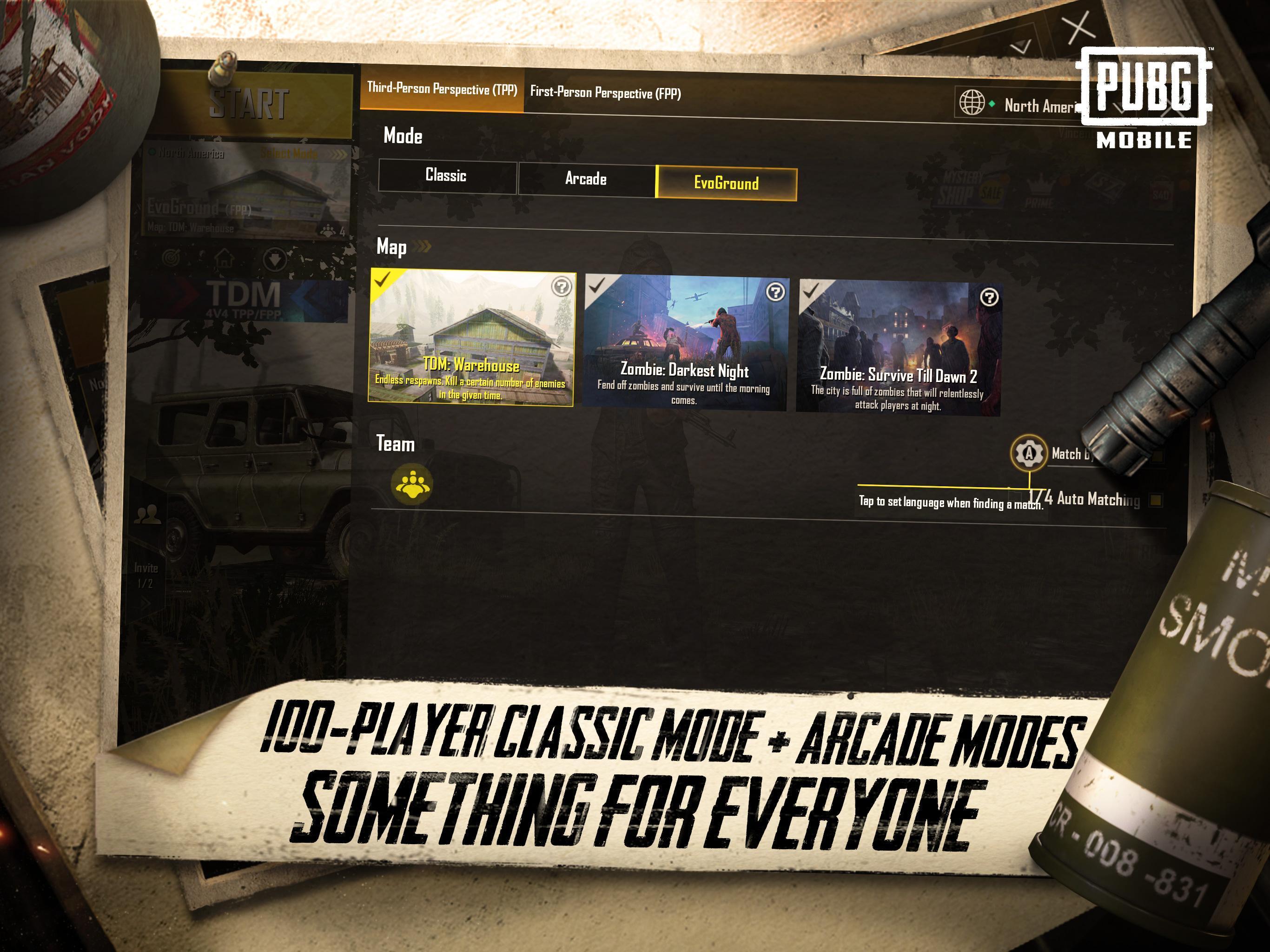Lihat game terbaru PUBG MOBILE