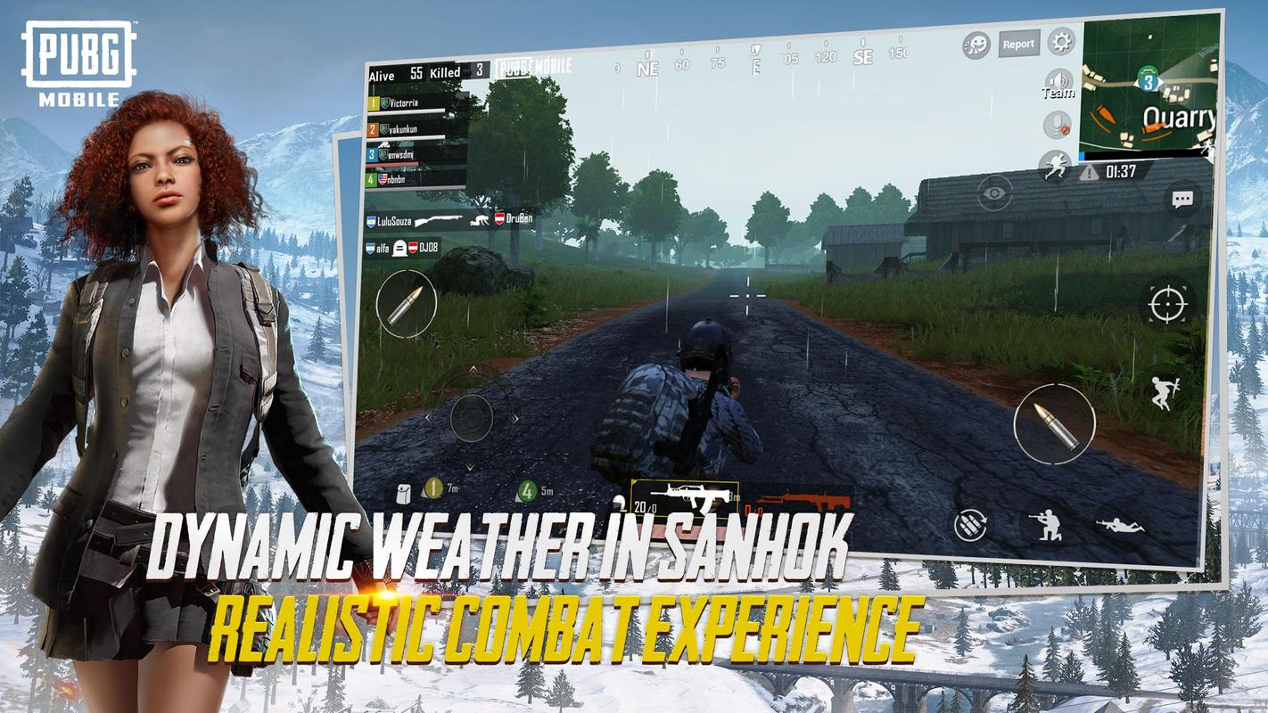 Pubg Mobile For Android Apk Download