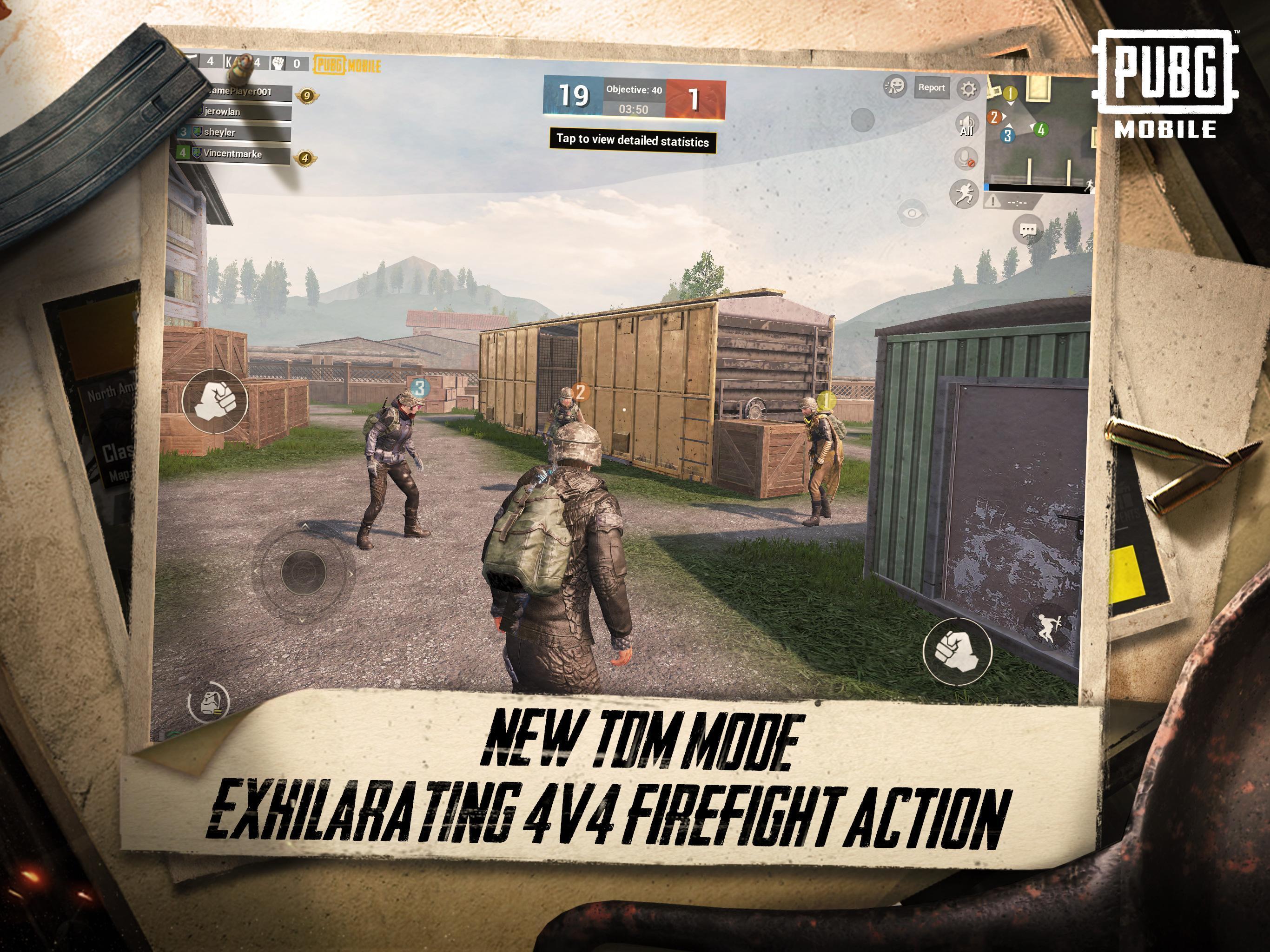 Download semua permainan gratis PUBG MOBILE