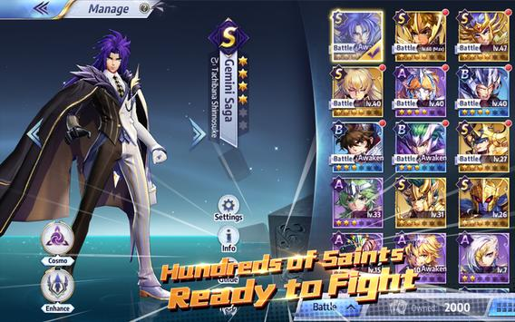 Saint Seiya Awakening: Knights of the Zodiac screenshot 9