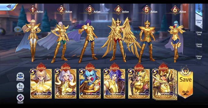 Saint Seiya : Awakening ảnh chụp màn hình 20
