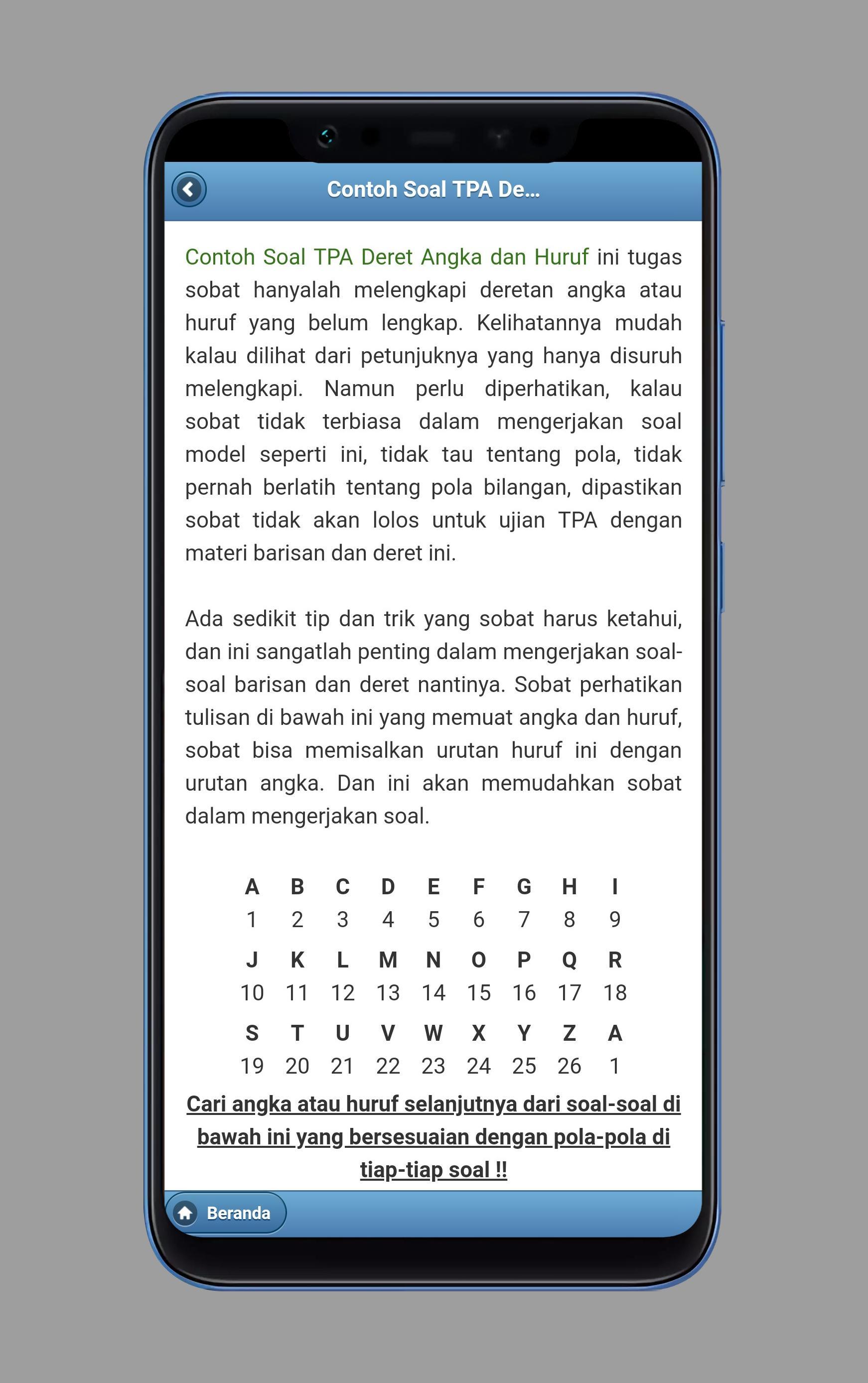 Tes Potensi Akademik For Android Apk Download