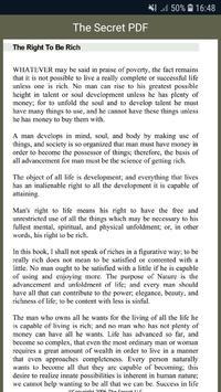 The Secret PDF screenshot 1