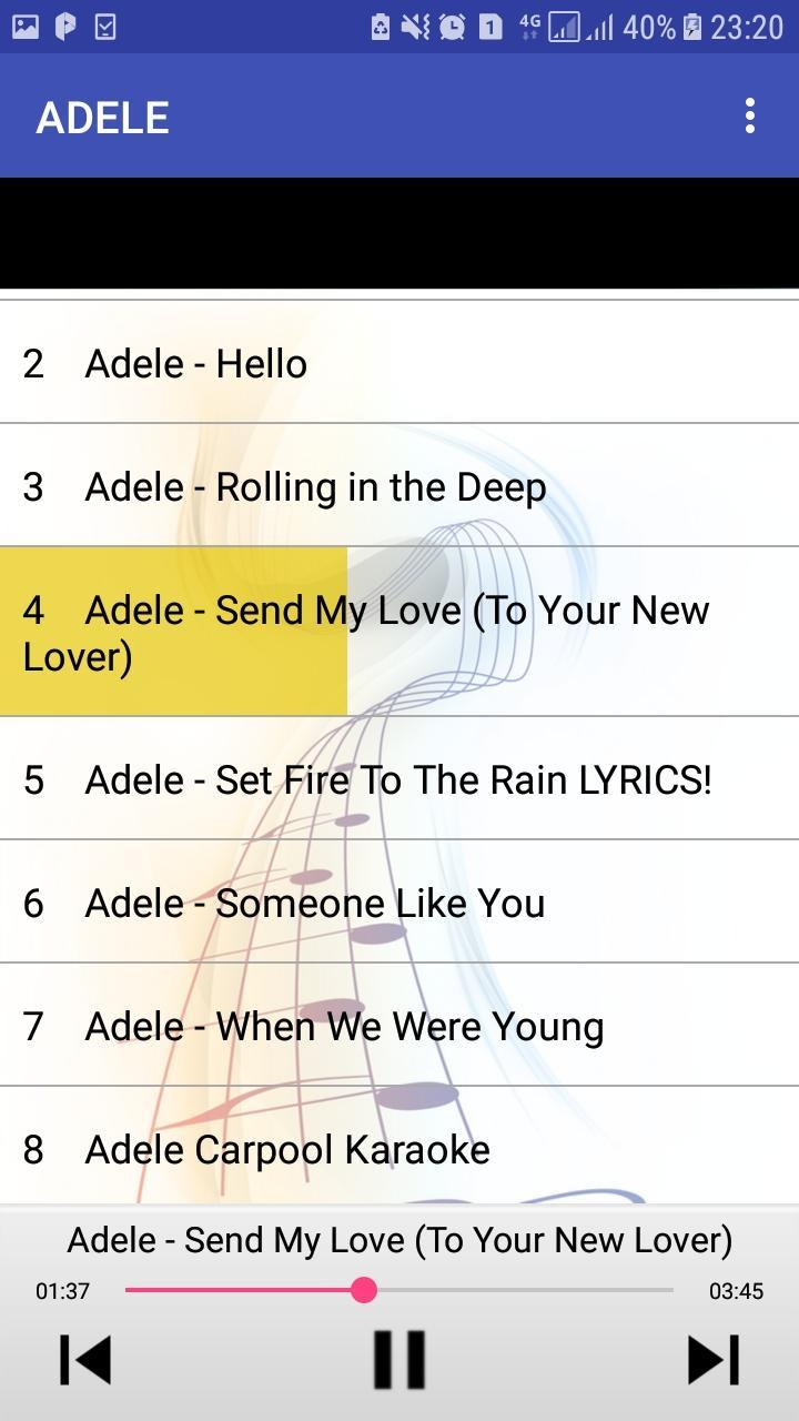 Adele Mp3 Songs For Android Apk Download