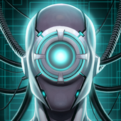 Virtual Assistant DataBot: Artificial Intelligence icon