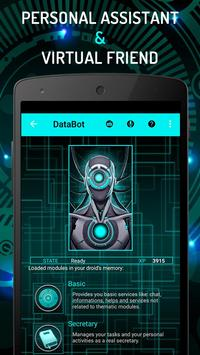 Virtual Assistant DataBot: Artificial Intelligence poster