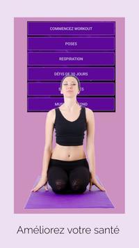 Yoga pour Maigrir - Yoga simple en français capture d'écran 19