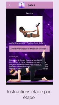 Yoga pour Maigrir - Yoga simple en français capture d'écran 5