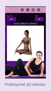 Yoga Egzersizleri: Yeni başlayanlar için yoga Ekran Görüntüsü 17