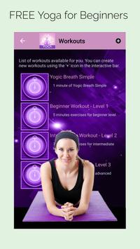 Yoga for beginners - Easy yoga poses poster