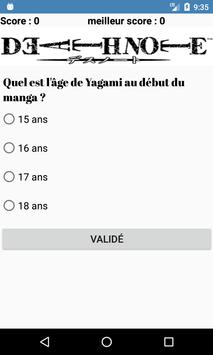 Quiz manga screenshot 4