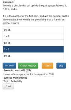 SAT Test Prep Questions - Free Unlimited Access screenshot 3