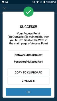 WIFI WPS WPA TESTER screenshot 6