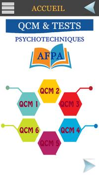 QCM & Tests Psychotechniques AFPA screenshot 1