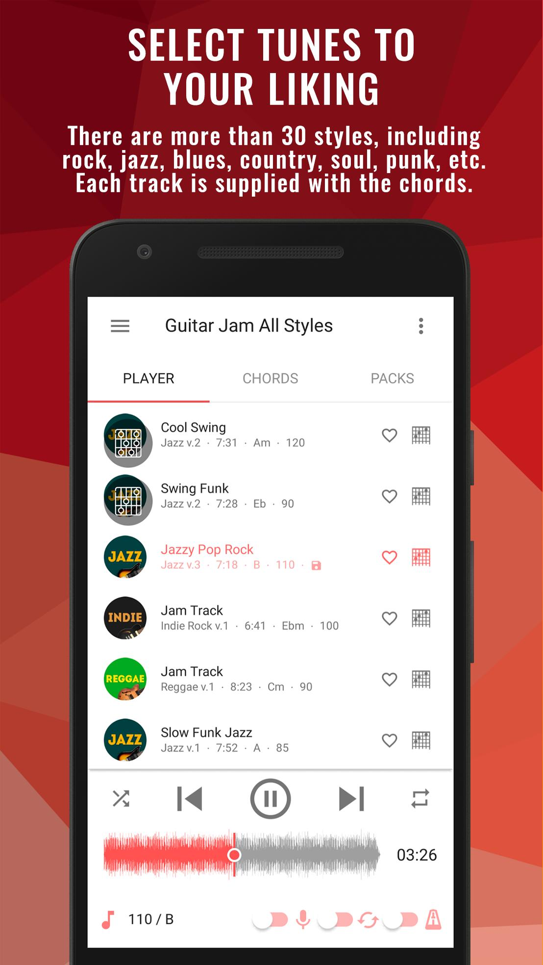Backing Tracks Guitar Jam Play Music Scales Pro for Android - APK Download