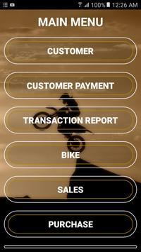 Bike ShowRoom Management App poster
