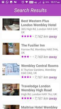 Hotel Finder screenshot 1
