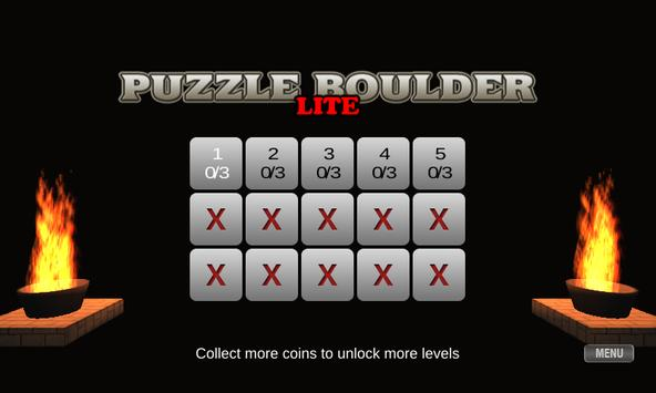Puzzle Boulder Lite screenshot 1