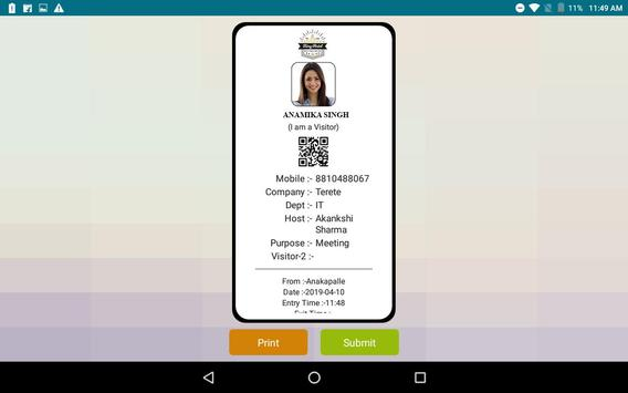 Aagantuk -Visitor Management System screenshot 4